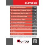 CLASSIC 20 automotive window film