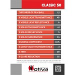 CLASSIC 50 automotive window film