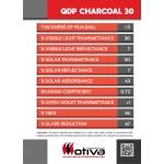 QDP CHARCOAL 30